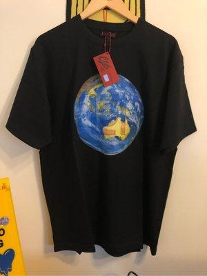現貨一件 L Clot 救援T 地球大Logo australia澳洲 澳大利亞 救援T