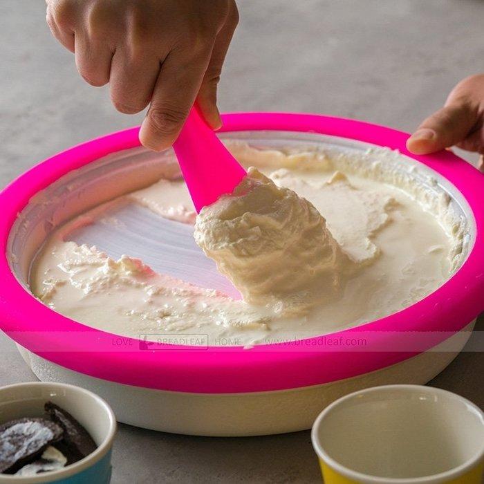 炒冰機 炒酸奶機家用小型兒童迷你手動水果炒冰盤自制冰沙WD