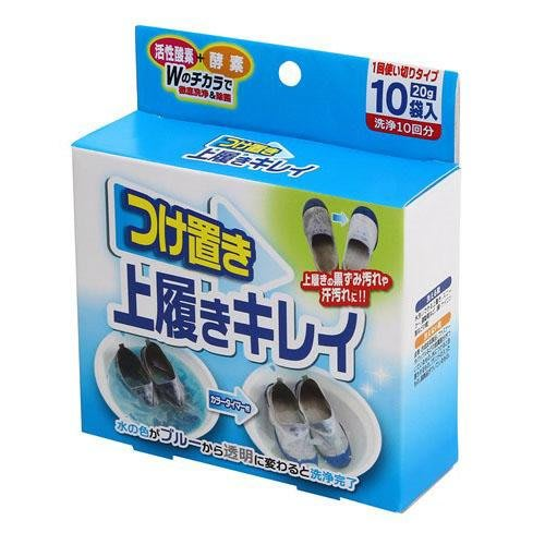 【東京速購】日本製 COGIT 鞋用 布鞋 運動鞋 白鞋 酵素 洗鞋劑 清潔劑 (10入)