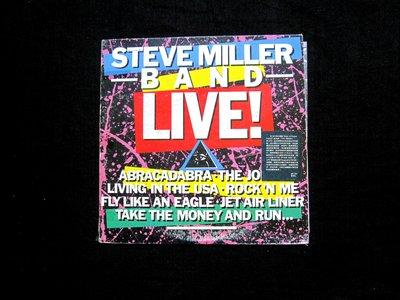 絕版黑膠唱片----史蒂夫米樂樂團--現場----GANGSTER OF LOVE