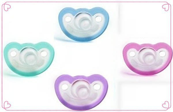 【DEAR BABY】美國Jollypop香草奶嘴 醫療級安撫奶嘴 藍/綠/粉/紫/橘色