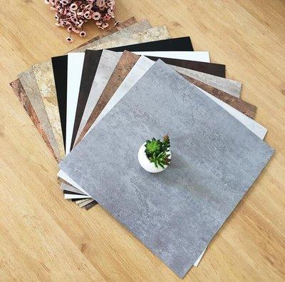 塑膠地板 pvc地板自粘地板貼紙地板革加厚耐磨塑膠地板貼家用防水臥室地膠—莎芭