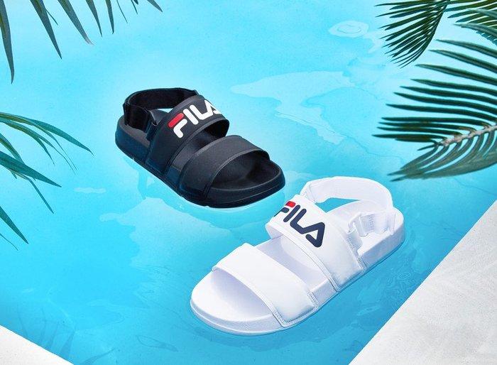 【Luxury】FILA 涼鞋 防水 1SM00736 防水涼鞋 男女鞋 情侶鞋 厚底 韓國代購 正品代購