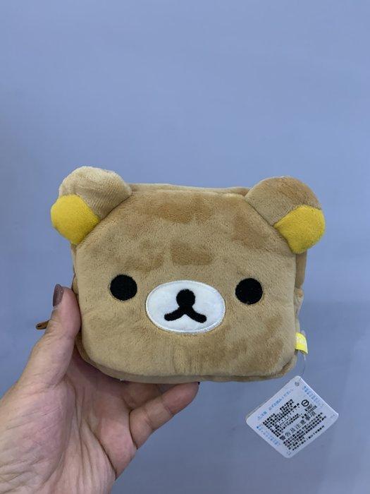 ^燕子部屋 ^ 正版San-X 【拉拉熊 / 懶熊】頭型零錢包(清倉特價400)