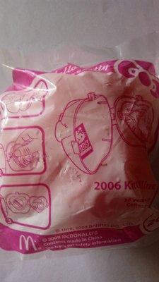 McDonald 麥當勞 Hello Kitty 35周年蘋果公仔 - 2006 (包平郵)