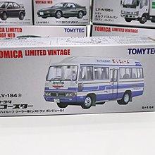 Tomica Tomytec LV-184a Toyota Coaster 豐田小巴 Limited Vintage
