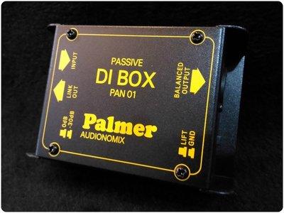 ♪♪學友樂器音響♪♪ Palmer PAN 01 被動式 DI Direct Box 原廠公司貨 台南市