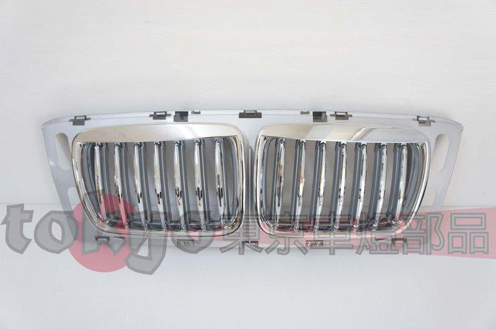 @Tokyo東京車燈部品@BMW 寶馬 E34 95 96 97 M5 電鍍銀框水箱護罩 電銀鼻頭 限大鼻頭專用