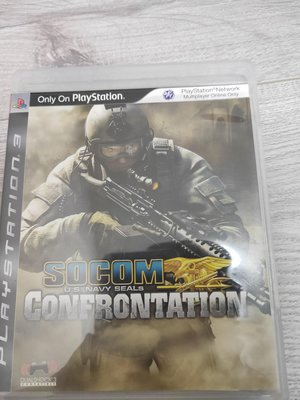 PS3 SOCOM CONFRONTATION 台中北屯可面交