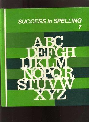 【易成中古書】《success in spelling 7》││746
