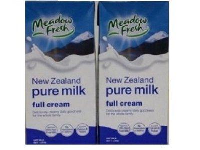 【Meadow Fresh】 ~通過食品安全認證紐麥福保久乳1公升/罐(缺貨中)~
