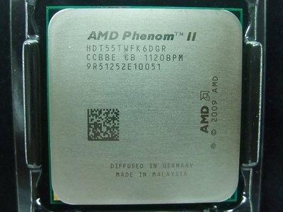 【含稅】AMD Phenom II X6 1055T 2.8G HDT55TWFK6DGR 95W正式散片CPU 一年保