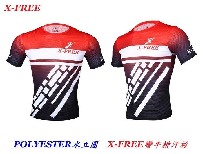 《意生》X-FREE蠻牛排汗衫 短袖車衣 自行車車衣 單車車衣 腳踏車排汗車衣 快速吸濕速乾排汗衣T恤休閒服運動服運動衫