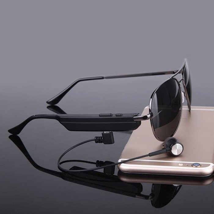 智能藍牙眼鏡耳機MP3無線運動開車