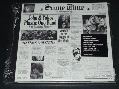 正版 2CD《約翰藍儂與小野洋子》/JOHN LENNON & YOKO ONO SOME TIME IN NEW YO
