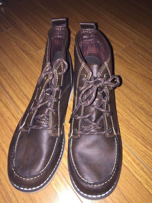 &&&大男童短靴鞋size:6三雙可選(白底兩雙,咖啡底一雙)