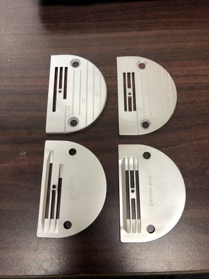 全新 原裝 JUKI 工業用 縫紉機 平車 公分款 針板 三排 四排 Brother 新輝針車有限公司