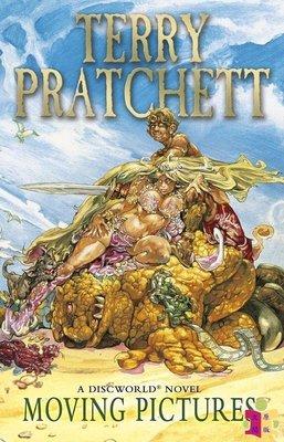 [文閲原版]碟形世界10:移動圖片 英文原版 科幻小說 Discworld Novel 10 Moving Pictur