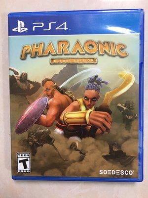 ps4遊戲PS4游戲  二手  暴君法老 Pharaonic Deluxe Edition  現貨即發
