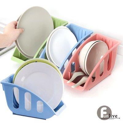 【贈品禮品】 A3268   L型碗盤瀝水收納架/瀝乾籃/瀝水籃/文件架/書報架/廚房用品/置物架/櫥櫃收納/多功能架/