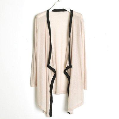 【音樂天使英才星】長袖超彈性開衫外套顯...