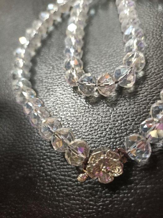 古董水晶項鍊珠寶 文創手工 骨董收藏 白水晶
