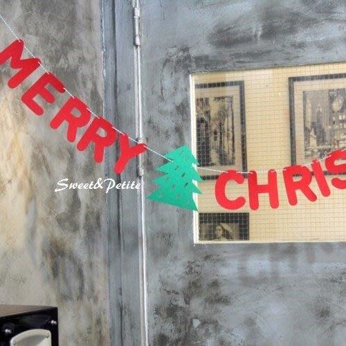FW37❤俏皮字母款。聖誕快樂吊飾組❤ 跨年派對活動迎賓旗幟 2019 Merry Christmas 聖誕 派對 裝飾