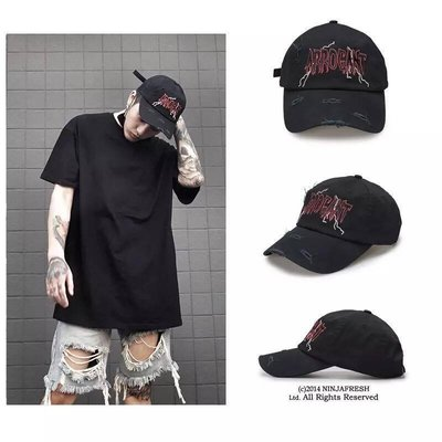 【Result】Arrogant 破壞黑 閃電 老帽 彎簷帽 Hiphop