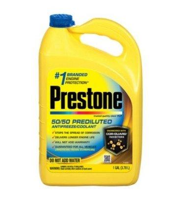 【多娜小鋪】(2箱/1箱394元) Prestone 50/50 長效型 水箱防凍冷卻液 3.78公升 AF2100