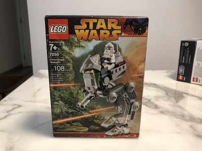 MISB 全新 LEGO Star Wars 7250 Clone Scout Walker