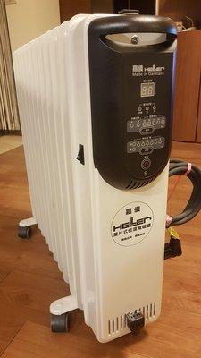 保固內HELLER 嘉儀 12片葉片式電暖爐 KED-512T 數位式 台北市