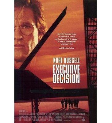 747絕地悍將-Executive Decision(1996)原版電影海報