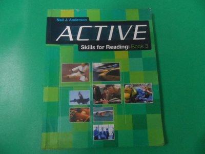大熊舊書坊- 大熊舊書坊- Active Skills for Reading Book 3 Neil J. -30/1