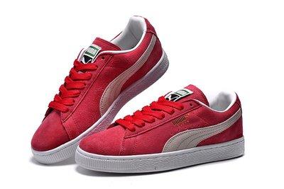D-BOX  Puma Basket Classic 板鞋 運動 休閒 情侶鞋 紅白 352634-05
