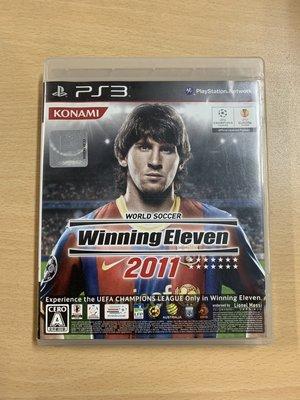 【飛力屋】PS3 Winning Eleven 2011 世界足球競賽2011 純日版 盒書完整 O43
