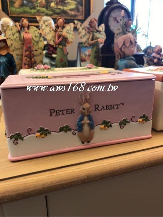 彼德兔面紙盒
