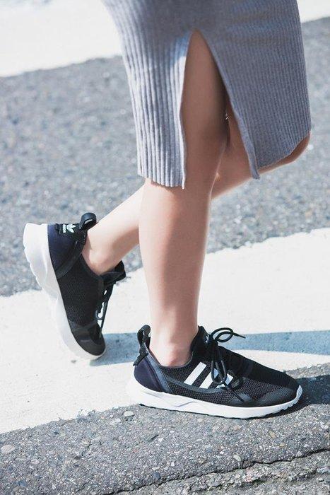 【豬豬老闆】ADIDAS ZX FLUX ADV VIRTUE W 黑白 襪套 網布 慢跑 女鞋 范冰冰 BB2285
