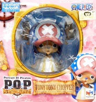 日本正版 POP 海賊王 航海王 Sailing again 喬巴 模型 公仔 日本代購