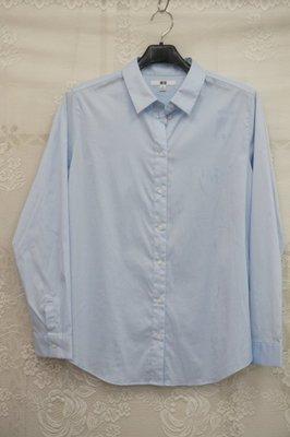 uniqlo淺藍棉長袖襯衫H&M.GU.Tommy.POLO.A&F.LEVIS.ARMANI.無印良品.ca.ga