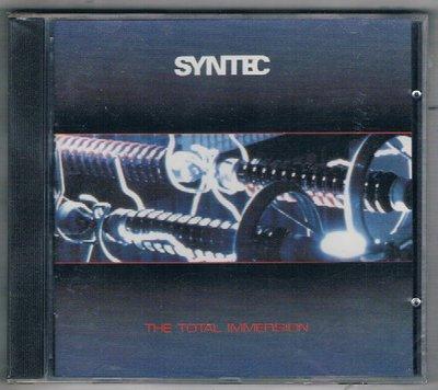 [鑫隆音樂]西洋CD-SYNTEC / THE TOTAL IMMERSION {MA532}全新/免競標