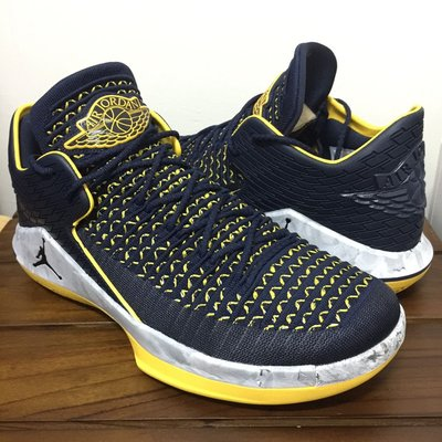 "Nike Air Jordan XXXII 32 ""Michigan"" 密西根 U11 溜馬 pacers oladipo"