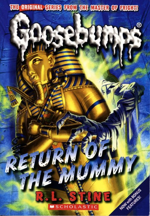 *小貝比的家*GOOSEBUMPS#18:RETURN OF THE MUMMY/平裝/7~12歲/小說