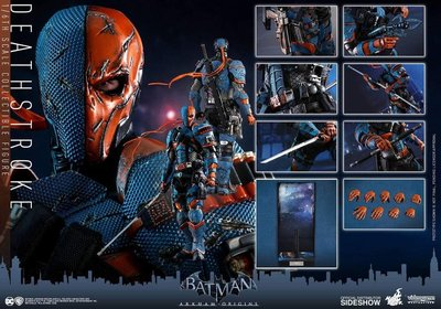 全新現貨 Hottoys BATMAN ARKHAM ORIGINS Deathstroke