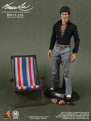 全新 Hot toys 1/6 MIS12 休閒便服版 Bruce Lee 李小龍 In Casual Wear