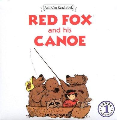 *小貝比的家*RED FOX AND HIS CANOE / L1/單CD/3~6歲/汪培珽--第二階
