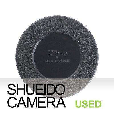 集英堂写真機【1個月保固】中古良上品 / NIKON 原廠 鏡頭透明展示筒 後底座 14021