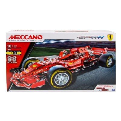 台中**宏富玩具**MECCANO 金屬組合模型 #18303 法拉利F1賽車組