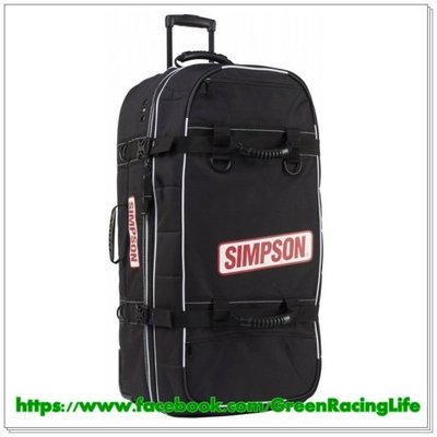Simpson 賽車FIA專業部品 大型裝備袋 -- Super Speedway Bag 豪華頂級旗艦版車手裝備袋