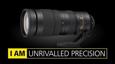 【中野數位】Nikon AF-S 200-500mm f5.6 E VR 公司貨/註冊送郵政禮卷1600到5/31