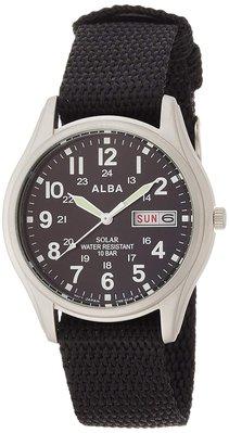 日本正版 SEIKO 精工 ALBA AEFD557 男錶 男用 手錶 太陽能充電 日本代購